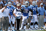 01 September 2012: UNC's Giovani Bernard runs for his third touchdown. The University of North Carolina Tar Heels played the Elon University Phoenix at Kenan Memorial Stadium in Chapel Hill, North Carolina in a 2012 NCAA Division I Football game. UNC won the game 62-0.