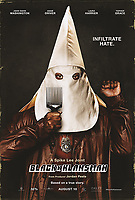 POSTER ART<br /> BlacKkKlansman (2018) <br /> *Filmstill - Editorial Use Only*<br /> CAP/RFS<br /> Image supplied by Capital Pictures