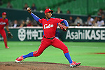 Danny Betancourt (CUB), .MARCH 1, 2013 - WBC : .2013 World Baseball Classic .Exhibithion Game .between Fukuoka Softbank Hawks 8-10 Cube .at Yafuoku Dome, Fukuoka, Japan. .(Photo by YUTAKA/AFLO SPORT) [1040]