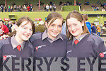 Meagan O'Sullivan, Sinead Higgins and Hannah Collins Killarney enjoying the Killarney Races on Sunday