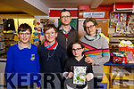 The Mannix family in the Post Office in Ballymac.<br /> L-r, Ruair&iacute;, Christopher, Beatrice, Brendan and Amanda Mannix.