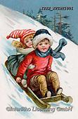 Isabella, CHRISTMAS SANTA, SNOWMAN, WEIHNACHTSMÄNNER, SCHNEEMÄNNER, PAPÁ NOEL, MUÑECOS DE NIEVE, nostalgic, paintings+++++,ITKEKVINT1001,#X#