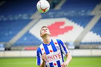 VOETBAL: HEERENVEEN: Abe Lenstra Stadion, 06-06-2012, Presentatie nieuwe speler SC Heerenveen, Jukka Raitala, 23-jarige linksback, Fins international, ©foto Martin de Jong