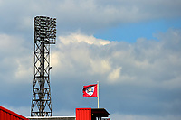 General View of floodlights at Oakwell<br /> <br /> Photographer Richard Martin-Roberts/CameraSport<br /> <br /> The EFL Sky Bet League One - Barnsley v Fleetwood Town - Saturday 13th April 2019 - Oakwell - Barnsley<br /> <br /> World Copyright © 2019 CameraSport. All rights reserved. 43 Linden Ave. Countesthorpe. Leicester. England. LE8 5PG - Tel: +44 (0) 116 277 4147 - admin@camerasport.com - www.camerasport.com