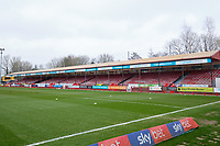 General view of the ground ahead of Crawley Town vs Oldham Athletic, Sky Bet EFL League 2 Football at Broadfield Stadium on 7th March 2020