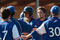 20 August 2010: Jonathan Dechelle of Team France celebrates next to Andy Paz with his teammates during France 6-5 win over Italy, at the 2010 European Championship, under 21, in Brno, Czech Republic.