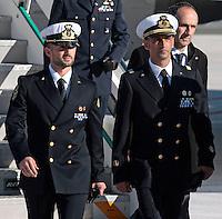 20121222 Ritorno in Italia dei due Maro' detenuti in India