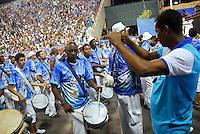 RIO DE JANEIRO - RJ - DIA 11 DE FEVEREIRO DE 2012.<br /> Na noite de s&aacute;bado (11) ensaio t&eacute;cnico da escola de samba Portela, na Marques de Sapuca&iacute;, situada no centro da cidade do Rio de Janeiro - RJ, no samb&oacute;dromo.<br /> Bateria.FOTO: RONALDO BRAND&Atilde;O/NEWSFREE