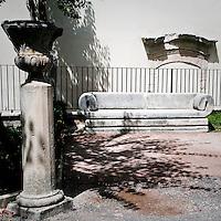 Particolari del Giardini Iblei a Ragusa Ibla...Particulars in the Iblei gardens.