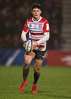 Gloucester's Louis Rees-Zammit<br /> <br /> Photographer Bob Bradford/CameraSport<br /> <br /> European Rugby Heineken Champions Cup Group E - Gloucester v Montpellier Herault Rugby - Saturday 11th January 2020 - Kingsholm Stadium - Gloucester<br /> <br /> World Copyright © 2019 CameraSport. All rights reserved. 43 Linden Ave. Countesthorpe. Leicester. England. LE8 5PG - Tel: +44 (0) 116 277 4147 - admin@camerasport.com - www.camerasport.com
