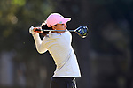 WILMINGTON, NC - OCTOBER 27: Penn State's Lauren Waller on the 12th tee. The first round of the Landfall Tradition Women's Golf Tournament was held on October 27, 2017 at the Pete Dye Course at the Country Club of Landfall in Wilmington, NC.