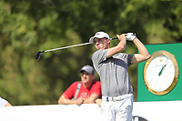 Matthew Fitzpatrick (ENG) on the 11th tee during the 1st round of the DP World Tour Championship, Jumeirah Golf Estates, Dubai, United Arab Emirates. 15/11/2018<br /> Picture: Golffile | Fran Caffrey<br /> <br /> <br /> All photo usage must carry mandatory copyright credit (© Golffile | Fran Caffrey)