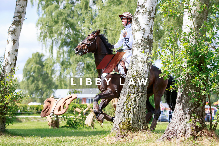 GER-Felix Etzel rides Bandid 436 during the Cross Country for the CIC3* Meßmer Trophy - German Eventing Championship, at the 2017 Luhmühlen International Horse Trial. Saturday 17 June. Copyright Photo: Libby Law Photography