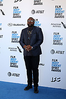 LOS ANGELES - FEB 23:  Brian Tyree Henry at the 2019 Film Independent Spirit Awards on the Beach on February 23, 2019 in Santa Monica, CA