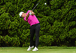 CROMWELL, CT. 20 June 2019-062019 - PGA Tour player Brooks Koepka hits his tee shot on the ninth hole, his 18th for the round, during the first round of the Travelers Championship at TPC River Highlands in Cromwell on Thursday. Bill Shettle Republican-American