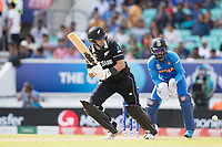 Ross Taylor (New Zealand) pushes into the on side and collects a quick single during India vs New Zealand, ICC World Cup Warm-Up Match Cricket at the Kia Oval on 25th May 2019
