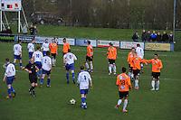 "VOETBAL: BALK: Voetbalcomplex ""de Wilgen"", 27-04-2013, KNVB 1ste Klasse E district Noord, VV Balk -VV Drachtster Boys, Einduitslag 1-2, ©foto Martin de Jong"