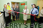 Vera O'Leary (Manager Kerry Rape & Sexual Abuse Centre) Garda Aidan O'Mahony, Nuala Rigney (Members Board) Deborah Courtney (Survivor) Mary McCaffrey (Consultant Obstetrician University Hospital Kerry) Sergeant Helena O'Sullivan (Tralee Garda Station), pictured at opening of the support room at Tralee Court House on Tuesday afternoon last.