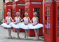AUG 21 Cast of Swan Lake arrive in London, UK - 21 August 2018 Photocall with Russian ballet company