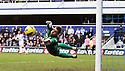 QPR v Norwich.Mark Bunn makes another great save..Pic by warren allott/Pixel 8000 Ltd