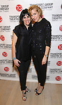 Leigh Silverman and Susan Blackwell attend the Transport Group Theatre Company 'A Toast to the Artist - An Evening with Mary-Mitchell Campbell & Friends'  at The The Times Center on February 6, 2017 in New York City.