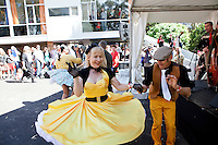 Dancing at The 2012 Historic Houses Trust of NSW annual Fifties Fair at Rose Seidler House, Sydney. Picture James Horan
