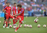 Commerce City, CO - Thursday June 08, 2017: Fabian Johnson during their 2018 FIFA World Cup Qualifying Final Round match versus Trinidad & Tobago at Dick's Sporting Goods Park.