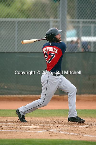 Paul Hendrix - Cleveland Indians 2016 spring training (Bill Mitchell)