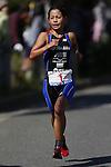 Ai Ueda, OCTOBER 13, 2013 - Triathlon : 19th Annual Triathlon National Championships Tokyo Port in Odaiba, Tokyo, Japan. (Photo by AFLO SPORT) [0006]