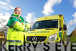 Pat Hannifin spokesperson for paramedics in Kerry.