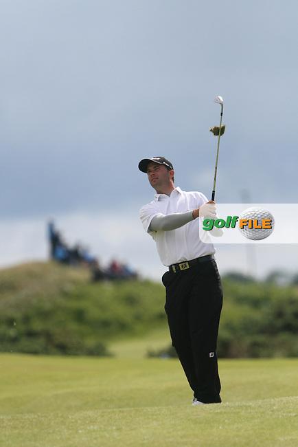 Ricardo Santos (POR) on the 12th on Day 2 of the 2012 Irish Open at Royal Portrush Golf Club, Portrush, Co.Antrim, 29/6/12...(Photo Jenny Matthews/www.golffile.ie)