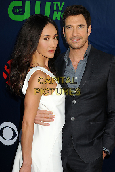 17 July 2014 - West Hollywood, California - Maggie Q, Dylan McDermott. CBS, CW, Showtime Summer Press Tour 2014 held at The Pacific Design Center. <br /> CAP/ADM/BP<br /> &copy;Byron Purvis/AdMedia/Capital Pictures