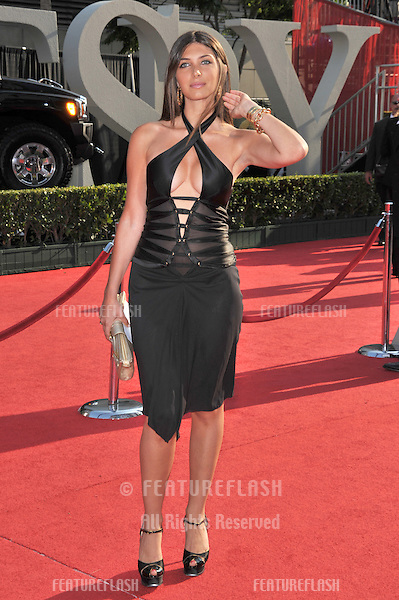 Brittny Gastineau at the 2008 ESPY Awards at the Nokia Theatre, Los Angeles..July 16, 2008  Los Angeles, CA.Picture: Paul Smith / Featureflash