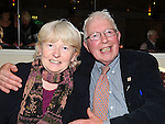 Pat and Jacinta Dillon pictured at the Return to Abbey Ballroom with the Flying Carlton at the Glenside hotel. Photo: Colin Bell/pressphotos.ie