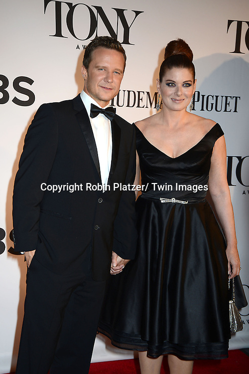 Will Chase and Debra Messing attend the 67th Annual Tony Awards on Sunday, June 9th at Radio City Music Hall in New York City.