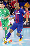 League LNFS 2017/2018 - Game 10.<br /> FC Barcelona Lassa vs CA Osasuna Magna: 3-3.<br /> Leo Santana.