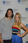American Idol Ace Young (just did Hair) and The Bold and The Beautiful Kim Matula attends the Starkey Hearing Foundation event on June 18, 2011 at the Las Vegas Hilton, Las Vegas, Nevada. (Photo by Sue Coflin/Max Photos)