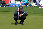 Phil Mickelson on putting green