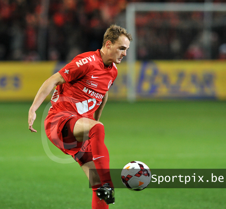 KV Kortrijk  : Brecht Capon <br /> foto VDB / Bart Vandenbroucke