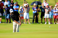 Arjun Atwal (IND) during the final round of the Afrasia Bank Mauritius Open played at Heritage Golf Club, Domaine Bel Ombre, Mauritius. 03/12/2017.<br /> Picture: Golffile   Phil Inglis<br /> <br /> <br /> All photo usage must carry mandatory copyright credit (&copy; Golffile   Phil Inglis)