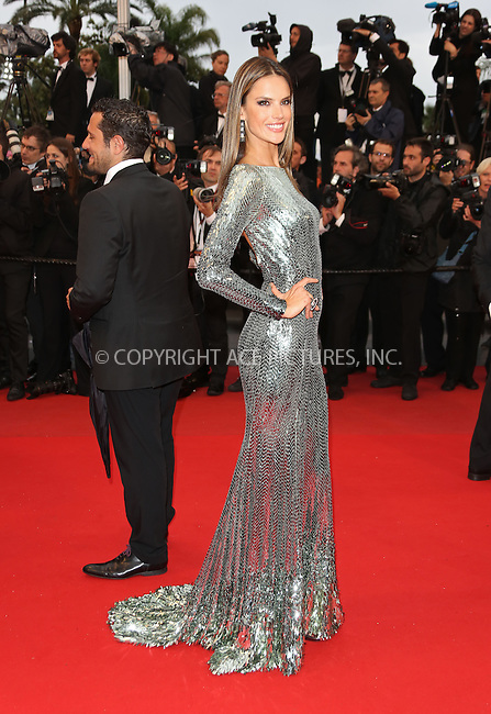 WWW.ACEPIXS.COM....US Sales Only....May 22 2013, Cannes....Alessandra Ambrosio at the premiere of 'All Is Lost' during the 66th Cannes Film Festival on May 22 2013 in France ....By Line: Famous/ACE Pictures......ACE Pictures, Inc...tel: 646 769 0430..Email: info@acepixs.com..www.acepixs.com