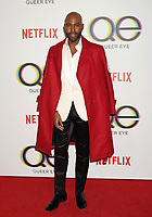 WEST HOLLYWOOD, CA - FEBRUARY 07: Karamo Brown attends the premiere of Netflix's 'Queer Eye' Season 1 at Pacific Design Center on February 7, 2018 in West Hollywood, California.<br /> CAP/ROT/TM<br /> &copy;TM/ROT/Capital Pictures