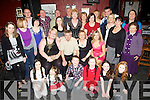 Silver Celebrations - Noel & Aine Lenihan from Casement's View, Ardfert, seated centre having a wonderful time with family and friends at their surprise 25th Wedding Anniversary party held in The Abbey Tavern, Ardfert on Saturday night........................................................................................................................................................................................................................................................................................ ............