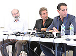 Director Daniel Sullivan, Al Pcino & Bobby Cannavale attending the 'Glengarry Glen Ross' Media Day at Ballet Hispanico Rehearsal Studios in New York City on 9/19/2012.