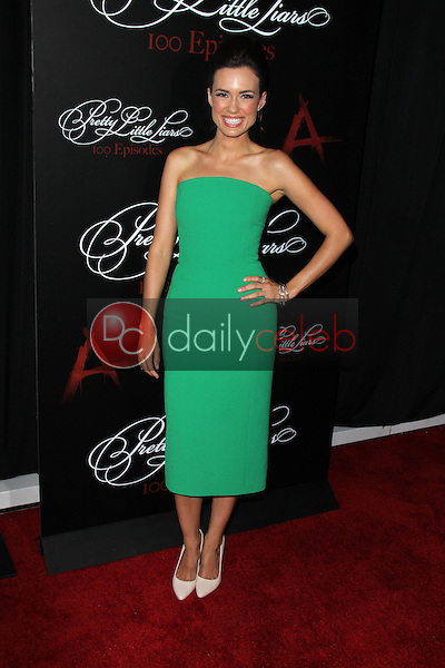 Torrey DeVitto<br /> at the &quot;Pretty Little Liars&quot; 100th Episode Celebration, W Hotel, Hollywood, CA 05-31-14<br /> Dave Edwards/DailyCeleb.com 818-249-4998