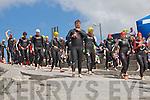 KERRYHEAD TRIATHLON: the start of the Kerryhead triathlon at Ballyheigue on Sunday.