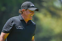 Phil Mickelson (USA) departs two after sinking his birdie putt  during round 4 of the World Golf Championships, Mexico, Club De Golf Chapultepec, Mexico City, Mexico. 3/4/2018.<br /> Picture: Golffile | Ken Murray<br /> <br /> <br /> All photo usage must carry mandatory copyright credit (&copy; Golffile | Ken Murray)