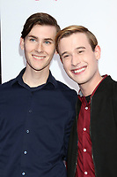 "LOS ANGELES - MAR 13:  boyfriend, Tyler Henry at the ""Love, Simon"" Special Screening at Westfield Century City Mall Atrium on March 13, 2018 in Century City, CA"