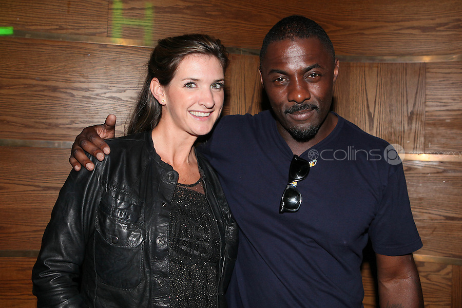 NO REPRO FEE. 14/9/2010. launch of Halo: Reach. Pictured at the Odeon Dublin for the launch of Halo: Reach are Idris Elba, star of HBO's The Wire (Stringer Bell) and Lucy. Halo: Reach tells the tragic and heroic story of Noble Team, a group of Spartans, who through great sacrifice and courage, saved countless lives in the face of impossible odds. Picture James Horan/Collins Photos