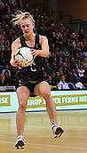 7th September 2017, Te Rauparaha Arena, Wellington, New Zealand; Taini Jamison Netball Trophy; New Zealand versus England;  Silver Ferns Shannon Francois takes a pass